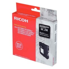 Cartouche Ricoh ''Gc-21'' gel noir