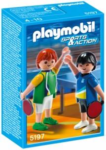 Les Playmobils aux Jeux Olympiques : le tennis de table
