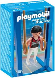 Les Playmobils aux Jeux Olympiques : les anneaux