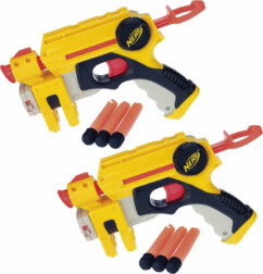 Set de 2 pistolets Nerf Nite Finder EX-3