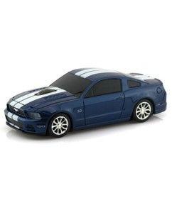 Souris sans fil voiture Ford Mustang GT Bleu