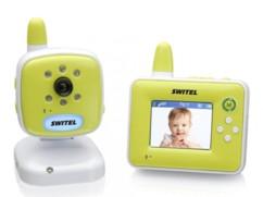 Babyphone vidéo sans fil avec écran 2,4'' Switel BCF 817