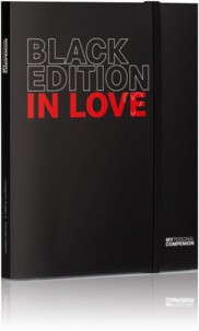 Bloc-notes A5 ''My Personal Compenion'' - ''Black Edition'' In Love