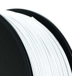 Bobine de fil ABS Verbatim 1kg - Blanc