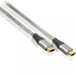 cable hdmi high speed et ethernet 5m philips swv3434s