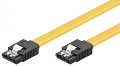 Câble S-ATA III Type L Goobay Plat - 0,70m