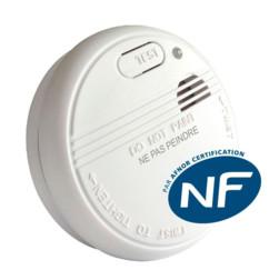 Détecteur Avertisseur Autonome de Fumée (DAAF) certifié NF - Symex SYM3200