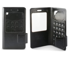 Étui folio à ventouses universel pour smartphones 5,5'' KSix