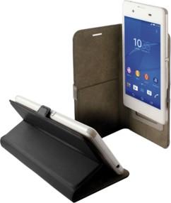 Étui universel folio pour smartphone avec slide - jusqu'à 4,5'' - Noir