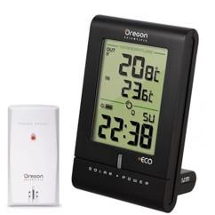 Horloge solaire radio-pilotée avec thermomètre int./ext. Oregon RMR331ES