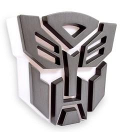 Lampe LED USB Transformers  ''Logo Autobot''