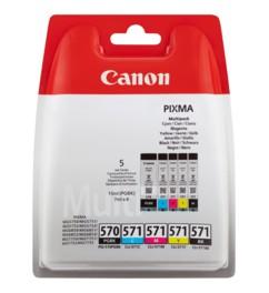 Pack cartouches originales Canon PGI-570 / CLI-571 - Pack