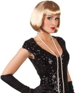 Perruque Cabaret blonde