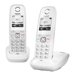 Télephones sans fil Gigaset AS405 Duo - Blanc