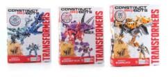 jouet contruction figurines Dinobots transformers construct bots grimlock slug strafe