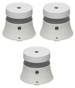 3 Minis détecteurs de fumée NF Tana ''X10''