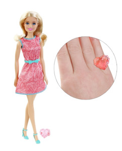 Barbie collection Friends : Barbie avec jupe rose