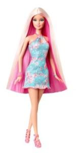 Barbie Hair Tastic - Glam Blonde