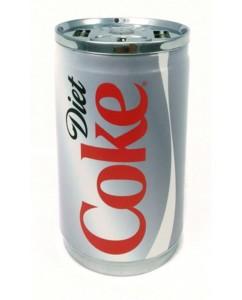 batterie de secours 7200mah cannette coca diet light