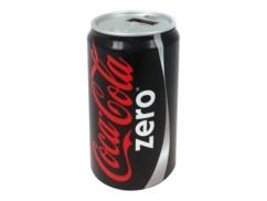 batterie d'appoint usb 2000mah forme cannette coca cola zero