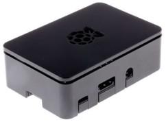 Boîtier de protection noir pour Raspberry Pi 1 et 2 B/B+  et 3 modèle B