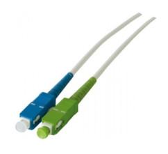 cable fibre optique sc/apc sc/upc pour freebox fibre v2 revolution v6 2m