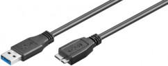 Câble USB 3.0 - Micro B - 1,80 m