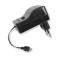 chargeur micro usb retractable fast charge 2,1a