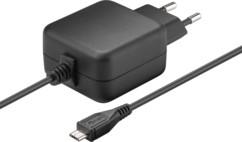 chargeur secteur micro usb rapide 2,5A pour smartphone et raspberry pi Goobay