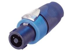 speakon 4 points femelle neutrik pour amplificateurs avec câble 5-15 mm
