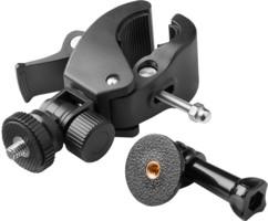 fixation guidon moto vélo pour caméra sport avec filetage standard et fixation gopro