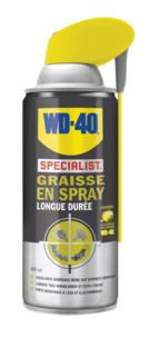 graisse en spray longue durée pour roulements et chaines specialist wd-40 250ml