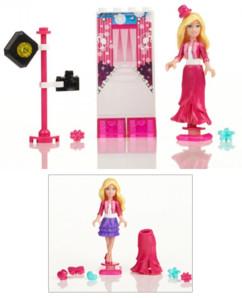 Kit d'accessoires Barbie Build'n Style - Barbie mannequin