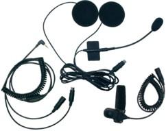 kit oreillette et micro spécial moto stabo pour talkie walkie freecom 700