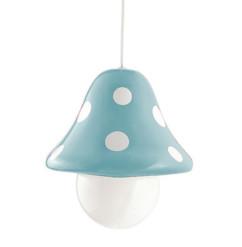 lampe suspension pour champe enfant philips boletu champignon bleu