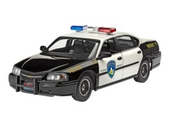 maquette chevrolet chevy impala 1999 police car voiture police americaine US COP revell 07068