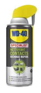 nettoyant contacts degraissant depoussierant en spray specialist wd40 250ml