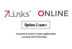 """Option 2CAM+ pour système """"7links Online"""""""