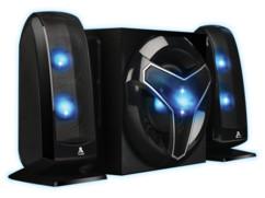 pack audio pc gaming bluestork klub200 avec 2 haut parleurs et caisson de basses 40w