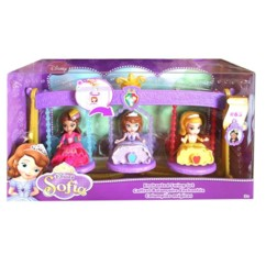 pack de 3 figurines princesse sofia disney 63 balancoire enchantée