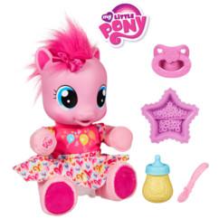 jouet petite fille petit poney little pony pinkie pie premiers pas avec accessoires