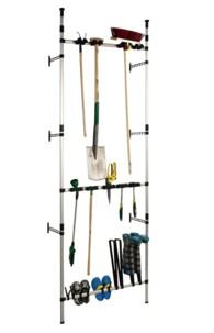etagere avec supports pour outils et ustensiles de jardinage ruco v959
