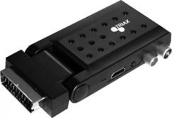 Récepteur TNT HD / TNT 2 UHD terrestre sur péritel Triax TR 50