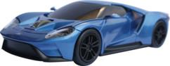 souris sans fil supercar landmice forme ford gt 2017 bleu