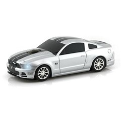 souris sans fil forme ford mustang gt gris landmice avec dongle USB