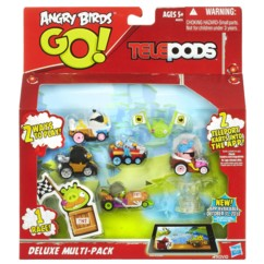 boite jouets telepods angry birds go multi pack 5 karts