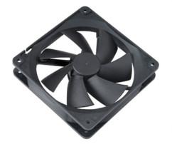 ventilateur de boitier pc ordinateur 12 cm akasa af-fn064 noir