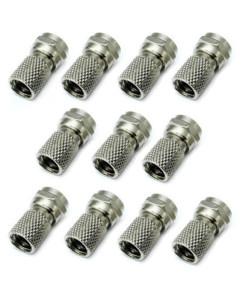 fiche F antenne à visser diametre 6,8mm par pack de 10