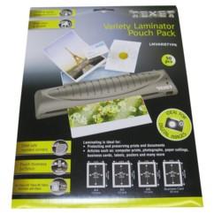 50 pochettes de plastification A4 / A5 / A6 / Cartes de visite - 75 microns