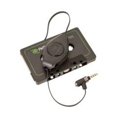 adaptateur filaire pour lecteur de cassette audio autoradio avec micro pour mains libres